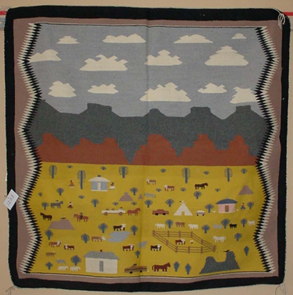 Genuine Wool Navajo Rugs