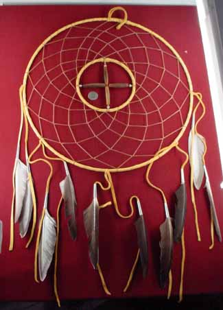 Authentic Handcrafted Dreamcatchers Page 40 Magnificent Ojibwe Dream Catcher