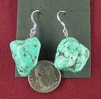 b1670f76cea97 Navajo and Zuni Indian Earrings, Page #83A